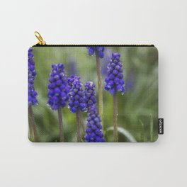 Grape Hyacinths Carry-All Pouch