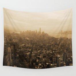 New York Skyline Wall Tapestry