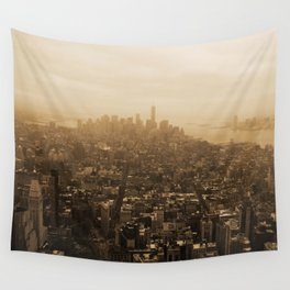 New York Skyline Wall Tapestry