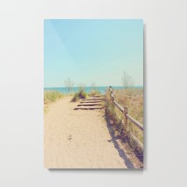AFE Gibraltar Point Beach Metal Print