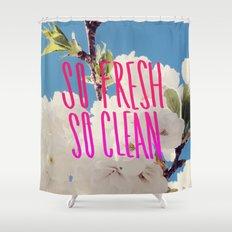 SO Fresh SO Clean Shower Curtain