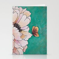poem Stationery Cards featuring butterfly poem by Erika