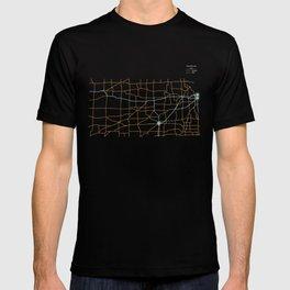 Kansas Highways T-shirt