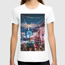 London Christmas Lights (Color) T-shirt