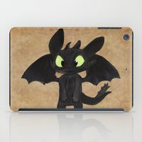 toothless iPad Cases featuring Toothless  by Walko