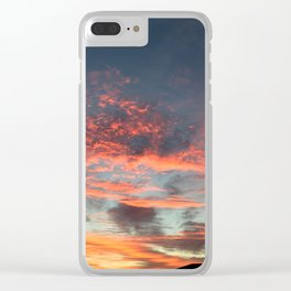 Sunrise in Manor, Texas Clear iPhone Case