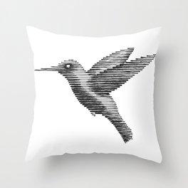 Pajarito (Hummingbird) Throw Pillow