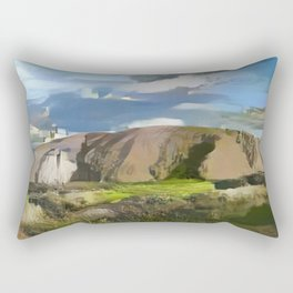 Ayers Rock in the Colors of Dover Rectangular Pillow