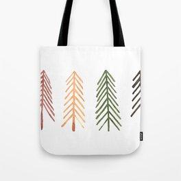 Simple Scandinavian print Tote Bag