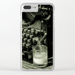 Before it's too late Clear iPhone Case