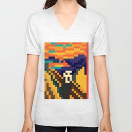 pixescream Unisex V-Neck