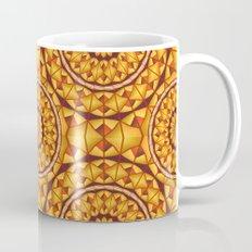 Golden mandalas pattern Mug