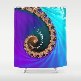 Midnight Octopus Shower Curtain