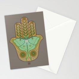 Luna Hamsa Stationery Cards
