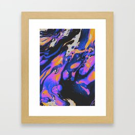 FIRED UP & FRUSTRATED Framed Art Print