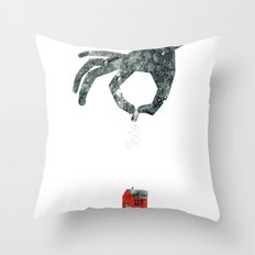 Personal Dictionary: rain Throw Pillow