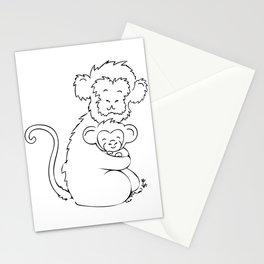 Safari Set - Monkeys Stationery Cards