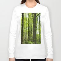 fairytale Long Sleeve T-shirts featuring Fairytale Forest by Kelsey Hunt
