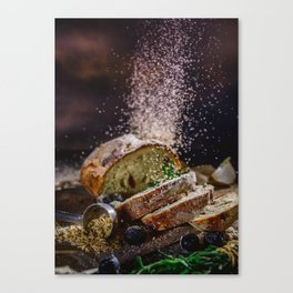 Fresh Bread Thanksgiving (Color) Canvas Print