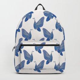 Kaleidoscope of Butterflies in blue Backpack