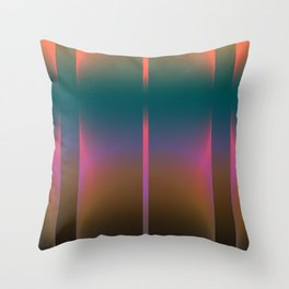 COLORFUL VIBES 1 Throw Pillow