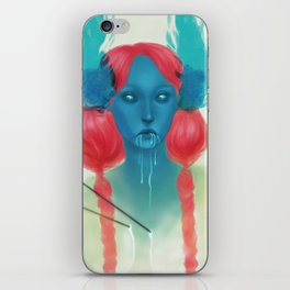 Wounded Dryad iPhone Skin