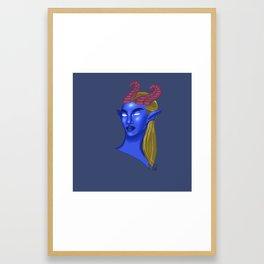Ew, Humans. Meet Jericho Framed Art Print