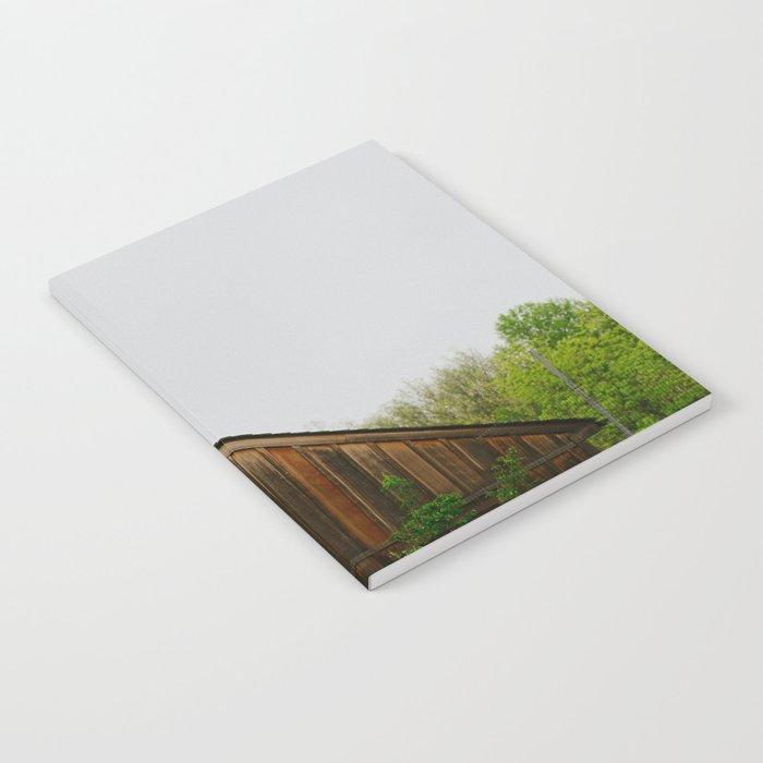 Cabin Season Notebook