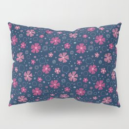 Carthusian Pink Embroidery Pillow Sham