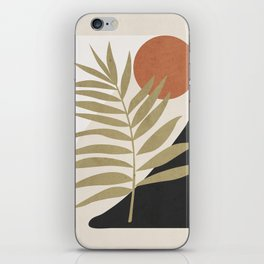 Tropical Leaf- Abstract Art 9 iPhone Skin