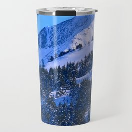 Back-Country Skiing  - IV Travel Mug