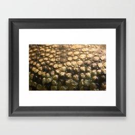 Croc Abstract I Framed Art Print