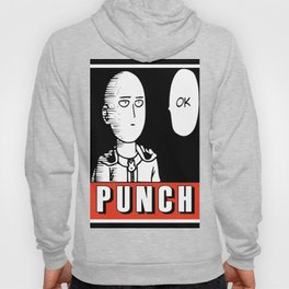 One Punch Obey Hoody