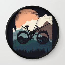 Yety Enduro Wall Clock