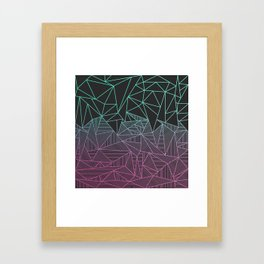 Beau Rays Framed Art Print