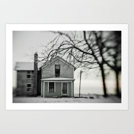 winter's grip Art Print