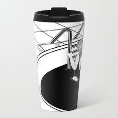 Morning Swim Metal Travel Mug