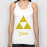 triforce Tank Tops featuring Triforce by Jynxit