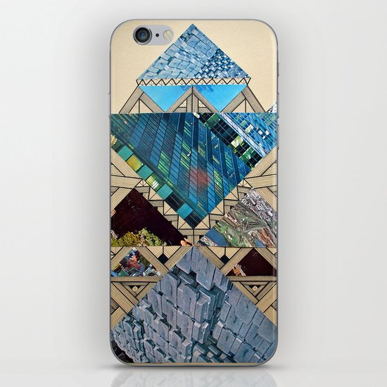 Paper House 1 iPhone & iPod Skin
