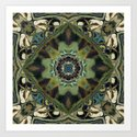 Marbled Moss Mandala by perkinsdesigns