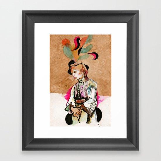 Stand and Deliver Framed Art Print
