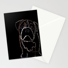 Bulldog Pup Stationery Cards