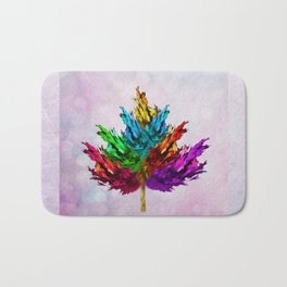 Joyful leaf Bath Mat