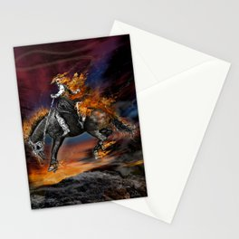 Texas Ghost Rider Stationery Cards