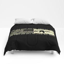 M4 Assault Rifle & Tactical Flag Comforters