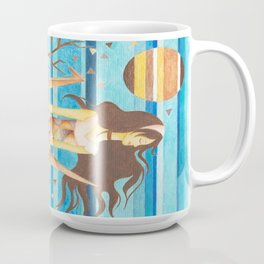 Crane Girl Coffee Mug