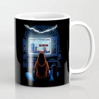 8bit Mugs featuring 8bit Who by Bamboota