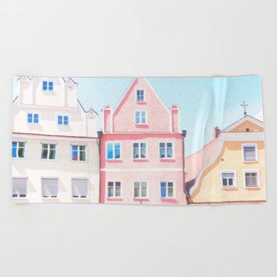 House 2 Beach Towel