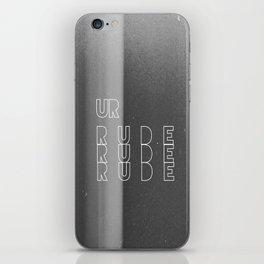 Ur Rude iPhone Skin