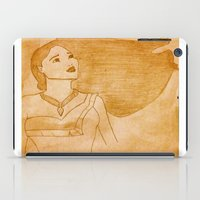 pocahontas iPad Cases featuring Pocahontas by Sierra Christy Art